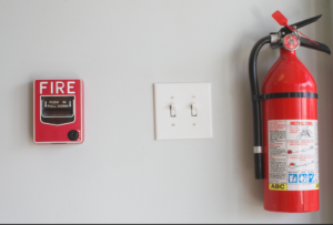 alarme contre incendie